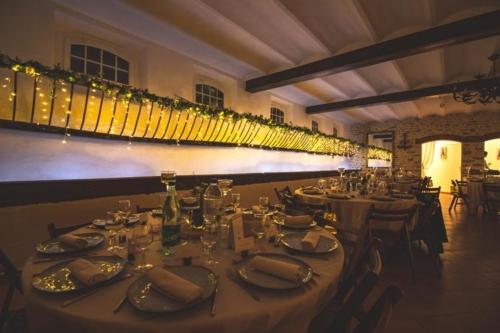 Mangeoire fleurie et illuminée aromatique fleuriste mariage